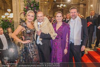Opernball 2020 - Wiener Staatsoper - Do 20.02.2020 - Lidia BAICH, Dominique MEYER, Maria GROßBAUER, Andreas SCHLAGER98