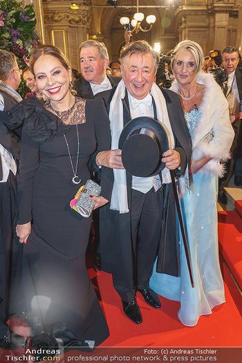 Opernball 2020 - Wiener Staatsoper - Do 20.02.2020 - Ornella MUTI, Richard LUGNER109