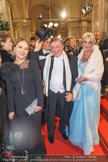 Opernball 2020 - Wiener Staatsoper - Do 20.02.2020 - Ornella MUTI, Richard LUGNER, Zebra Karin111