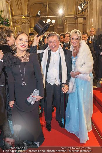 Opernball 2020 - Wiener Staatsoper - Do 20.02.2020 - Ornella MUTI, Richard LUGNER, Zebra Karin113