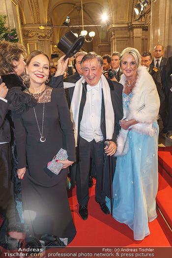 Opernball 2020 - Wiener Staatsoper - Do 20.02.2020 - Ornella MUTI, Richard LUGNER, Zebra Karin114