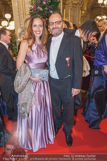 Opernball 2020 - Wiener Staatsoper - Do 20.02.2020 - Ernst und Katharina BURKHARD119