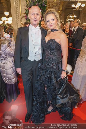 Opernball 2020 - Wiener Staatsoper - Do 20.02.2020 - Kurt und Joanna MANN130