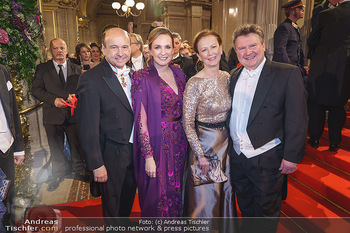 Opernball 2020 - Wiener Staatsoper - Do 20.02.2020 - Dominique MEYER, Maria GROßBAUER, Irmtraud ROSSGATTERER, Michae147