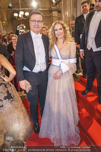 Opernball 2020 - Wiener Staatsoper - Do 20.02.2020 - Hans MAHR, Katja BURKARD151