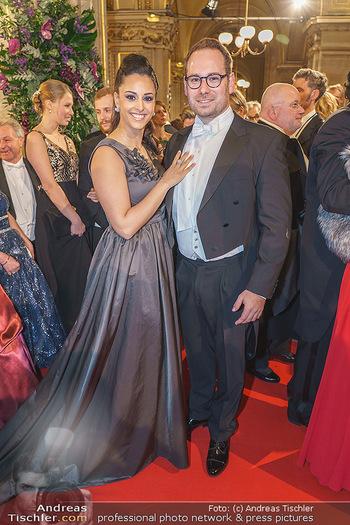 Opernball 2020 - Wiener Staatsoper - Do 20.02.2020 - Hila FAHIMA, Benjamin RUSCHIN166