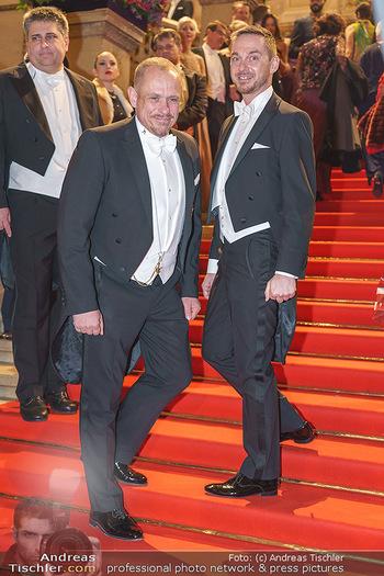 Opernball 2020 - Wiener Staatsoper - Do 20.02.2020 - Gery KESZLER, Miha VEBERIC178