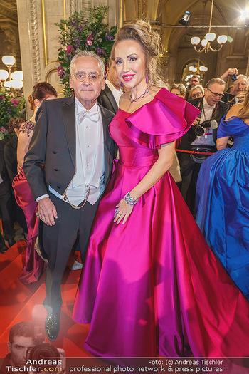 Opernball 2020 - Wiener Staatsoper - Do 20.02.2020 - Christian und Ekaterina MUCHA184