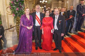 Opernball 2020 - Wiener Staatsoper - Do 20.02.2020 - Maria GROßBAUER, Dominique MEYER, Alexander VAN DER BELLEN, Dor187