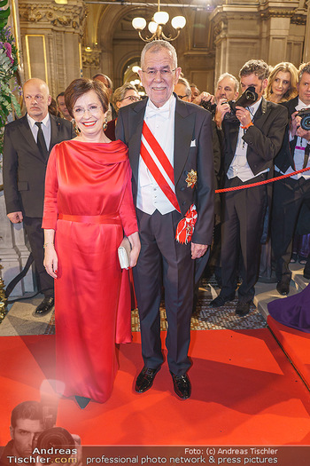 Opernball 2020 - Wiener Staatsoper - Do 20.02.2020 - Alexander VAN DER BELLEN, Doris SCHMIDAUER188