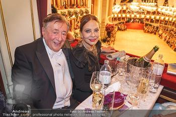Opernball 2020 - Wiener Staatsoper - Do 20.02.2020 - Richard LUGNER, Ornella MUTI192