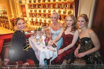 Opernball 2020 - Wiener Staatsoper - Do 20.02.2020 - Ornella MUTI, Zebra Karin, Jacqueline LUGNER195