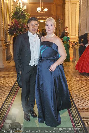 Opernball 2020 - Wiener Staatsoper - Do 20.02.2020 - Alexis Fernadez GONZALEZ, Doris POMMERENING205