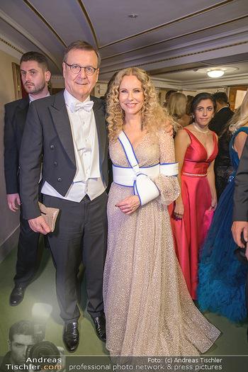 Opernball 2020 - Wiener Staatsoper - Do 20.02.2020 - Hans MAHR, Katja BURKHARD206