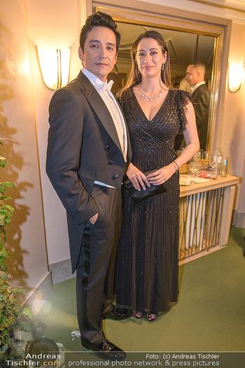 Opernball 2020 - Wiener Staatsoper - Do 20.02.2020 - Gabriel und Smaranda LUNA207