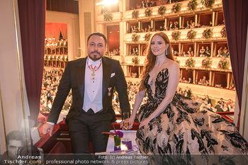 Opernball 2020 - Wiener Staatsoper - Do 20.02.2020 - Klemens HALLMANN, Barbara MEIER209