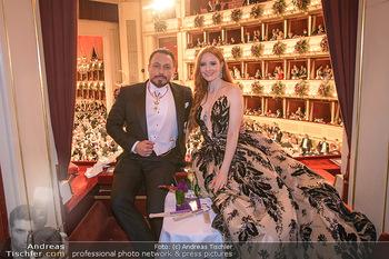Opernball 2020 - Wiener Staatsoper - Do 20.02.2020 - Klemens HALLMANN, Barbara MEIER210