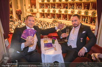 Opernball 2020 - Wiener Staatsoper - Do 20.02.2020 - Klemens HALLMANN, Ralf MOELLER211