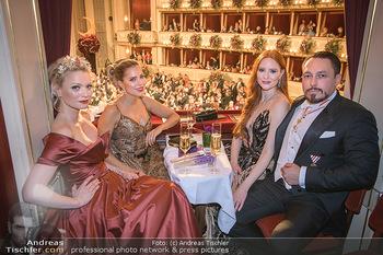 Opernball 2020 - Wiener Staatsoper - Do 20.02.2020 - Sylvie MEIS, Barbara MEIER, Franziska KNUPPE, Klemens HALLMANN220