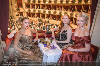 Opernball 2020 - Wiener Staatsoper - Do 20.02.2020 - Sylvie MEIS, Barbara MEIER, Franziska KNUPPE221