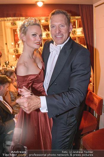 Opernball 2020 - Wiener Staatsoper - Do 20.02.2020 - Franziska KNUPPE, Ralf MOELLER222