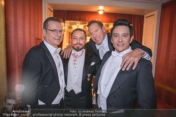 Opernball 2020 - Wiener Staatsoper - Do 20.02.2020 - Hans MAHR, Klemens HALLMANN, Ralf MOELLER, Gabriel LUNA223