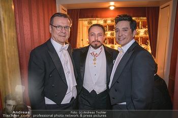 Opernball 2020 - Wiener Staatsoper - Do 20.02.2020 - Hans MAHR, Klemens HALLMANN, Gabriel LUNA224