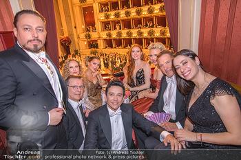 Opernball 2020 - Wiener Staatsoper - Do 20.02.2020 - Ralf MOELLER,Sylvie MEIS, Barbara MEIER, Franziska KNUPPE, Kleme225