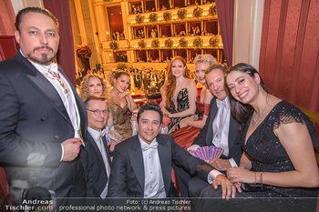 Opernball 2020 - Wiener Staatsoper - Do 20.02.2020 - Ralf MOELLER,Sylvie MEIS, Barbara MEIER, Franziska KNUPPE, Kleme226