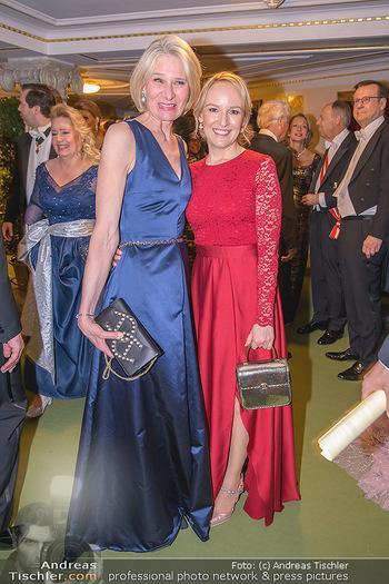 Opernball 2020 - Wiener Staatsoper - Do 20.02.2020 - Sibylle SCHÖN, Maria HAUSER228