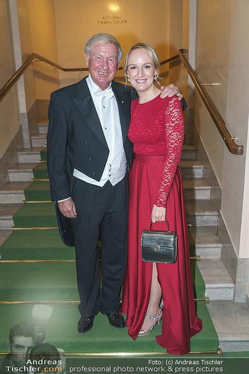 Opernball 2020 - Wiener Staatsoper - Do 20.02.2020 - Balthasar HAUSER mit Tochter Maria229