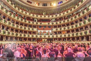 Opernball 2020 - Wiener Staatsoper - Do 20.02.2020 - Übersichtsfoto Parkett, Ballsaal, Festsaal, Logen, Tanzpaare, T234