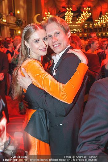 Opernball 2020 - Wiener Staatsoper - Do 20.02.2020 - Olga ESINA, Kirill KOURLAEV244