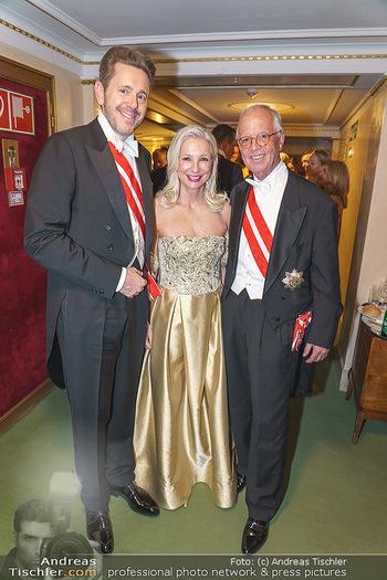 Opernball 2020 - Wiener Staatsoper - Do 20.02.2020 - Karl MAHRER, Martina und Werner FASSLABEND252