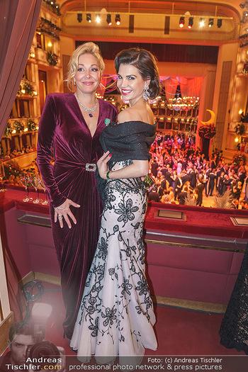 Opernball 2020 - Wiener Staatsoper - Do 20.02.2020 - Nadja SWAROVSKI, Leona KÖNIG269
