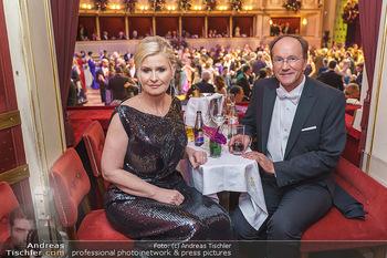 Opernball 2020 - Wiener Staatsoper - Do 20.02.2020 - Sonja SARKÖZI, Ernst MINAR276