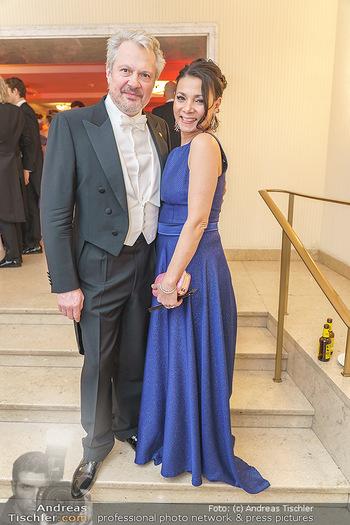 Opernball 2020 - Wiener Staatsoper - Do 20.02.2020 - Herbert FÖTTINGER, Sandra CERVIK310