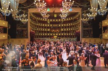 Opernball 2020 - Wiener Staatsoper - Do 20.02.2020 - Logen, Festsaal, Ballsaal, Übersichtsfoto, Tanzparkett322