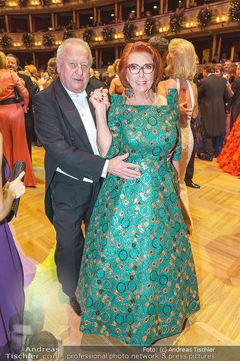 Opernball 2020 - Wiener Staatsoper - Do 20.02.2020 - Inge und Rudolf KLINGOHR324