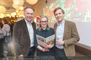 Buchpräsentation ´Wiener Traditionsunternehmen´ - Kattus Sektkellerei, Wien - Mi 26.02.2020 - Freya MARTIN, Gerhard SCHILLING, Johannes KATTUS5