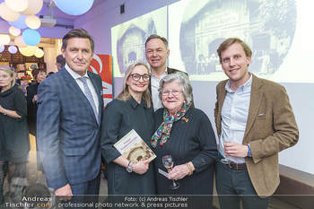 Buchpräsentation ´Wiener Traditionsunternehmen´ - Kattus Sektkellerei, Wien - Mi 26.02.2020 - Freya MARTIN, Gerhard SCHILLING, Johannes KATTUS, Peter HANKE, H6