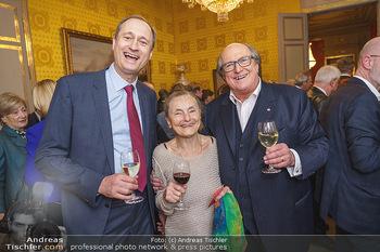 Ausstellungseröffnung Michael Horowitz - Albertina, Wien - Do 27.02.2020 - Andreas Mailath POKORNY, Erni MANGOLD, Michael HOROWITZ1