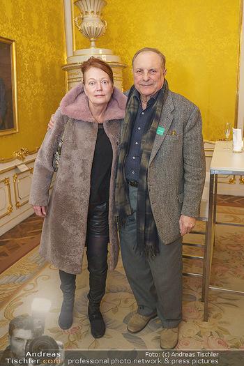 Ausstellungseröffnung Michael Horowitz - Albertina, Wien - Do 27.02.2020 - Ingried BRUGGER, Christian Ludwig ATTERSEE2