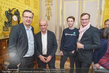 Ausstellungseröffnung Michael Horowitz - Albertina, Wien - Do 27.02.2020 - Hans MAHR, Rudi KLAUSNITZER, Thomas KRALINGER7