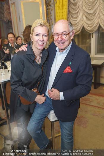 Ausstellungseröffnung Michael Horowitz - Albertina, Wien - Do 27.02.2020 - Georg MARKUS mit Ehefrau Daniela MARKUS9