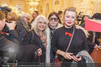 Ausstellungseröffnung Michael Horowitz - Albertina, Wien - Do 27.02.2020 - Marianne NENTWICH, Marianne KOHN, Petra VON MORZE14