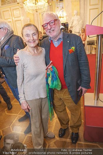Ausstellungseröffnung Michael Horowitz - Albertina, Wien - Do 27.02.2020 - Erni MANGOLD, Christian BISUTTI16