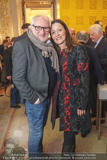 Ausstellungseröffnung Michael Horowitz - Albertina, Wien - Do 27.02.2020 - Michael SCHOTTENBERGER mit Claire31