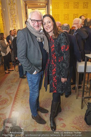Ausstellungseröffnung Michael Horowitz - Albertina, Wien - Do 27.02.2020 - Michael SCHOTTENBERGER mit Claire32
