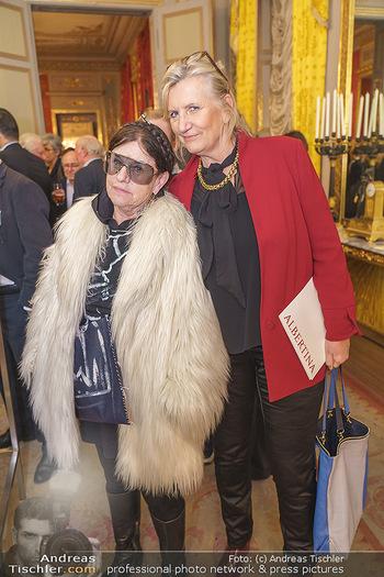 Ausstellungseröffnung Michael Horowitz - Albertina, Wien - Do 27.02.2020 - Marianne KOHN, Polly ADLER33
